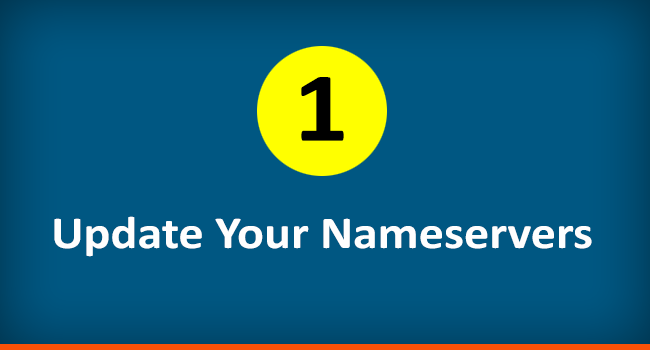 Update Nameservers of your Domain Name